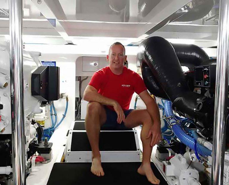 Marine Engine Surveyor Florida, Ryan Kruger, Kruger Survey and Engineering